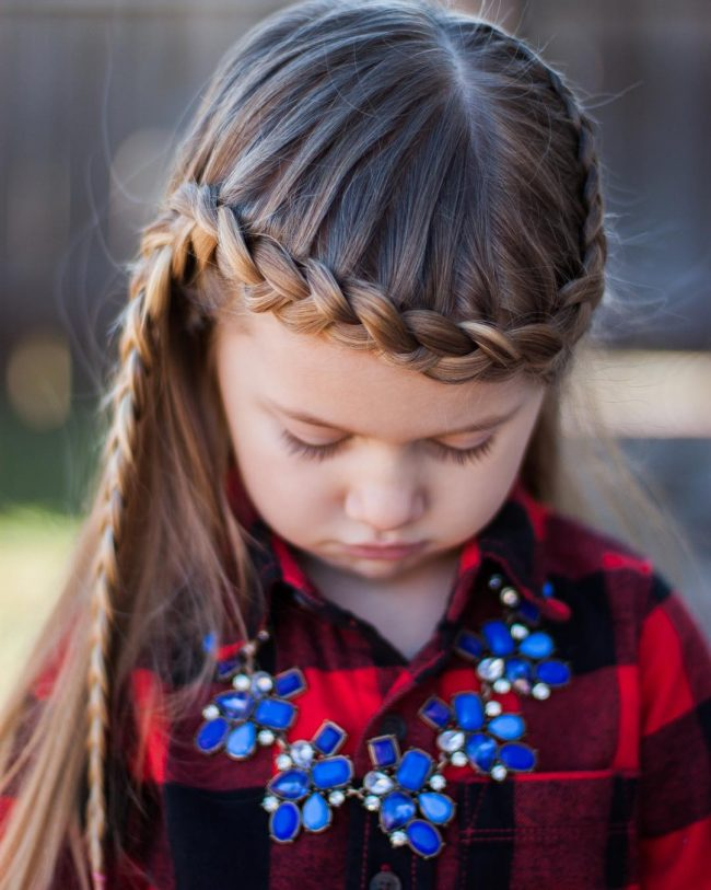 Charming Milkmaid Braid