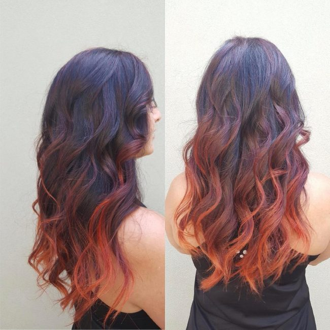 30 Spectacular Black Ombre Hair Ideas Colors Of Midnight