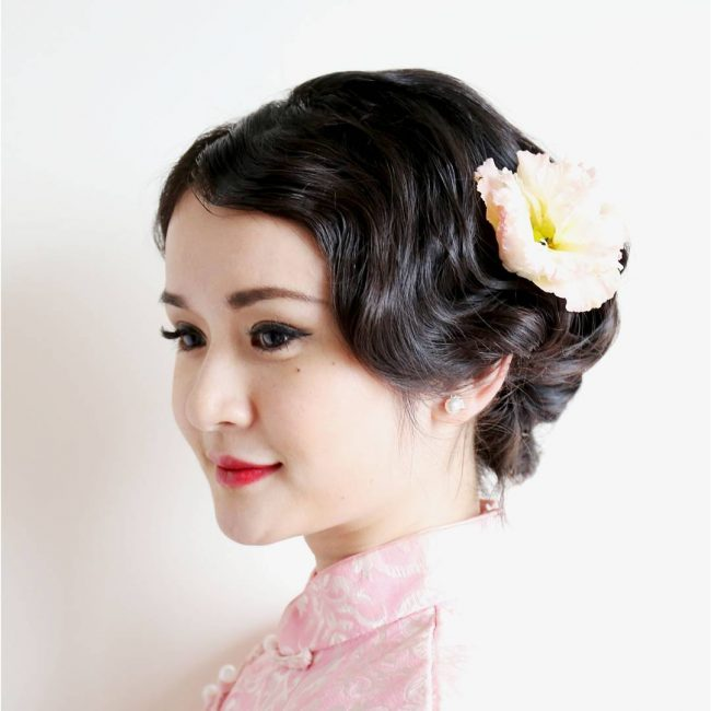 Chinese Bridal Look