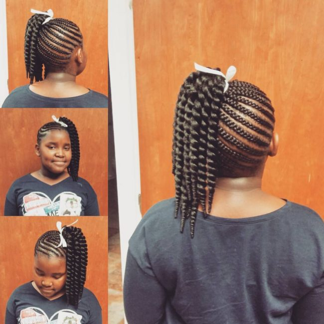 Crochet Braids For Kids : Hairstyles with Braids for Kids - From Box and Crochet Braids ...