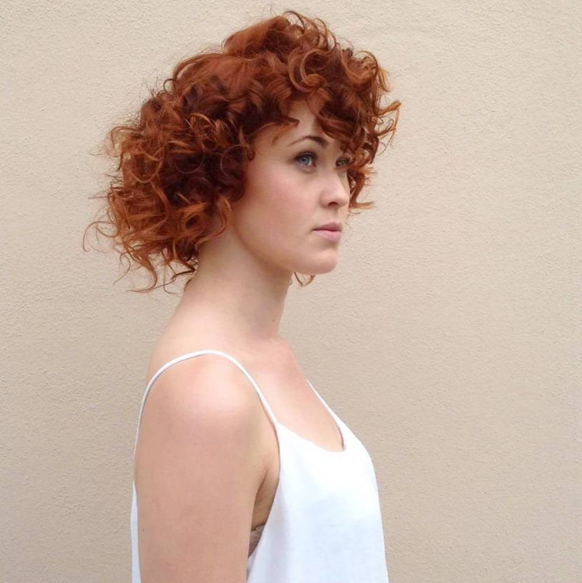 Curly Copper Perfection