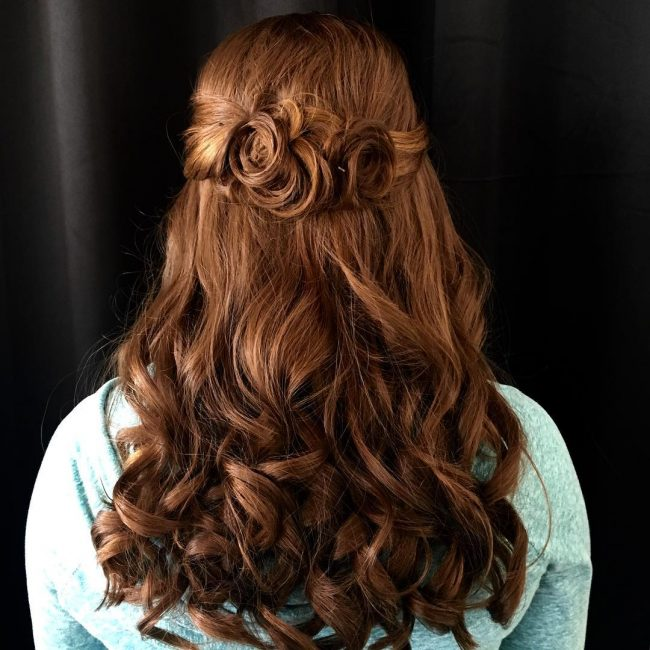 Curly Halo Extensions