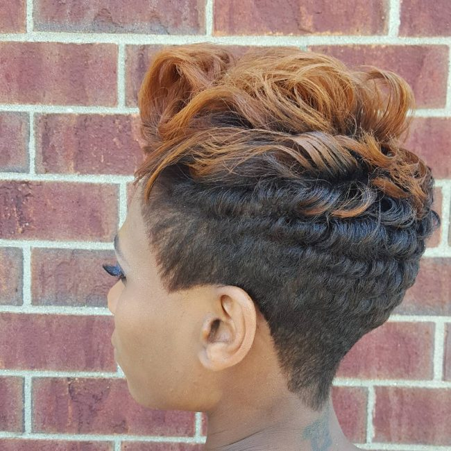 Curly and Tapered
