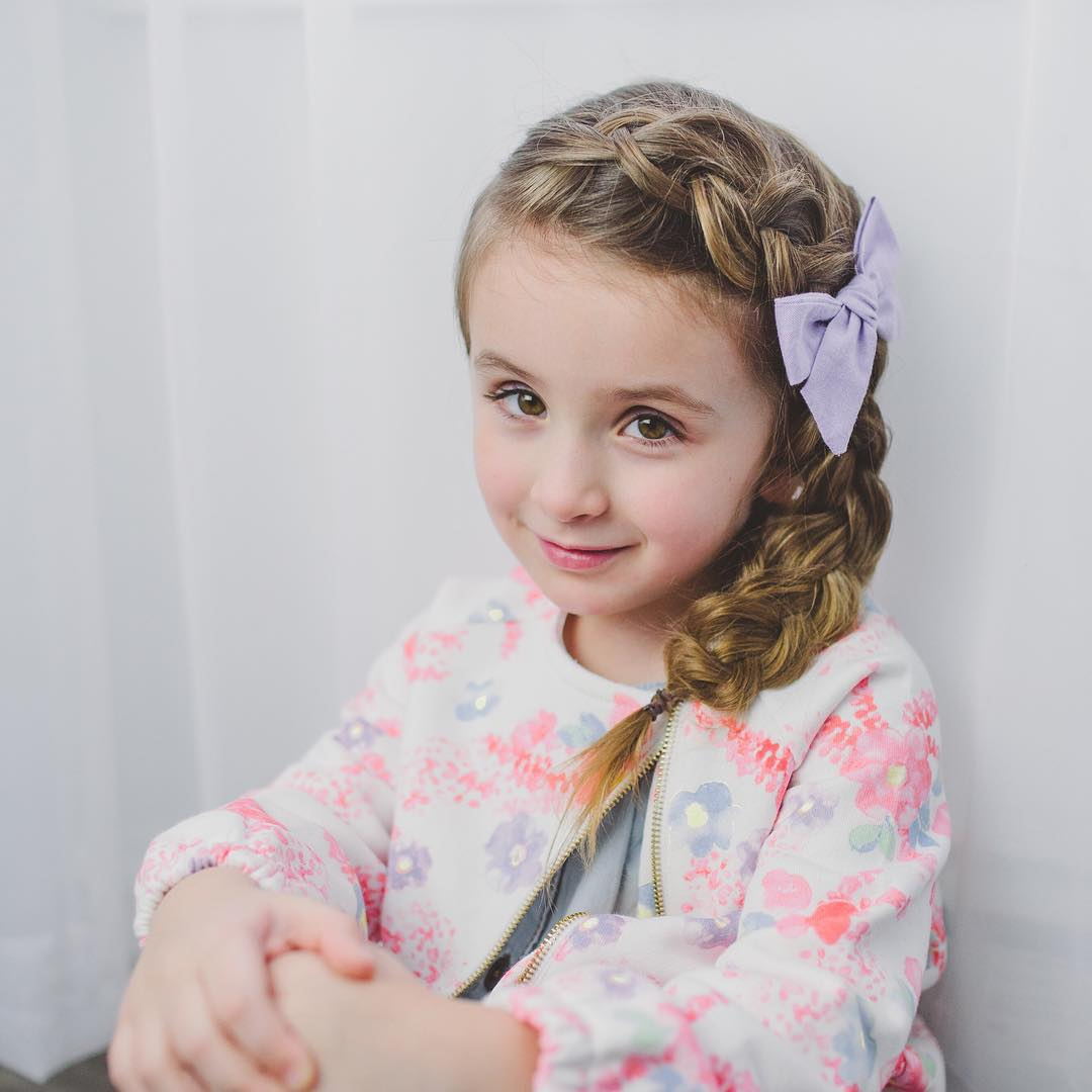 60 Lovely Hairstyles with Braids for Kids - All Braiding Styles