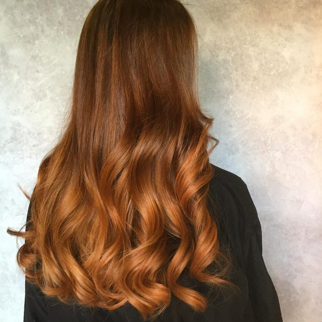 Cute Copper Waves