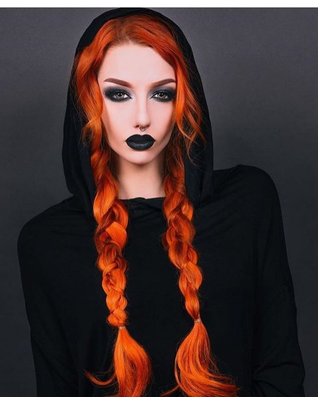 Double Orange Fishtails