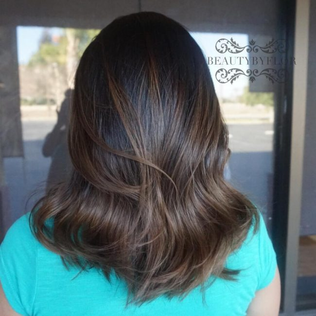 Easy Brown Ombre Style