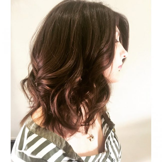 Easy Long Layered Bob