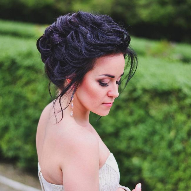 Easy and Romantic Updo