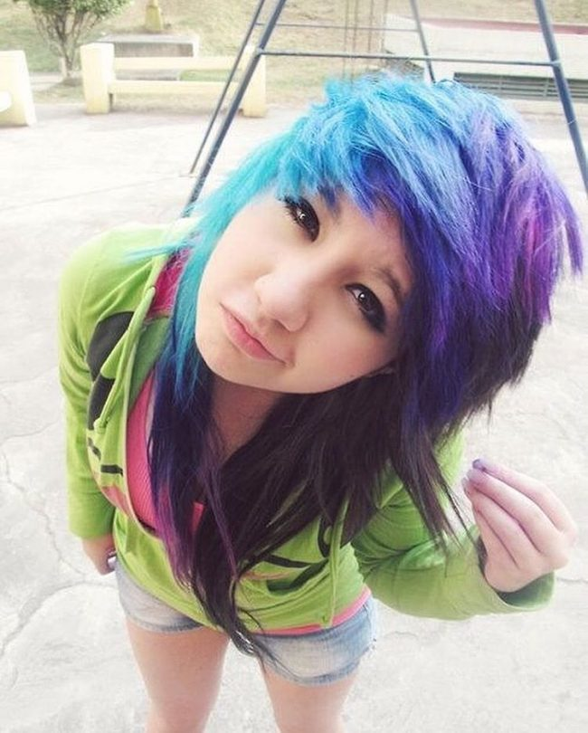 55 dramatic emo hairstyles for girls nonconformistic choice
