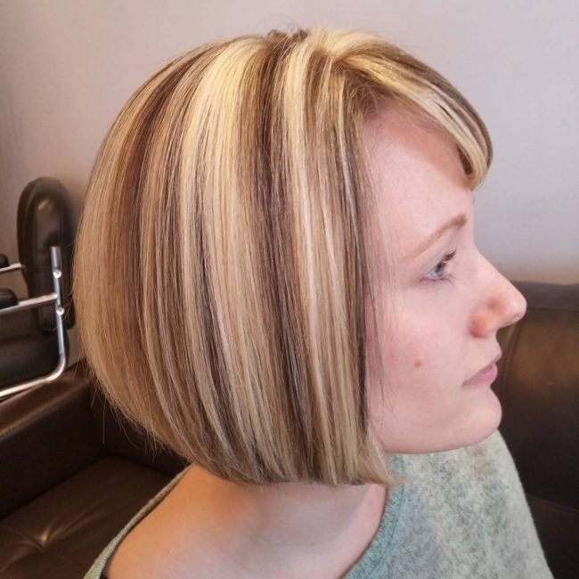 Elegant Face Framing Chin Length Bob