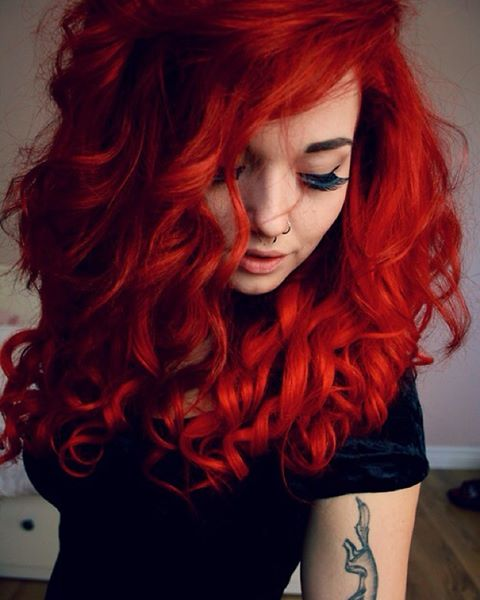 Fiery Red Curls