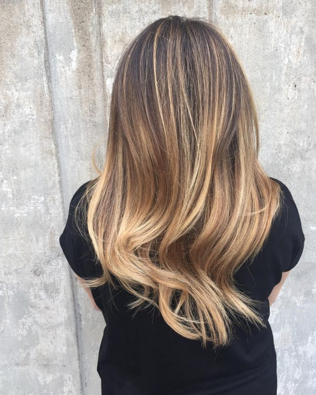 Flawless Ombre with Dark Roots