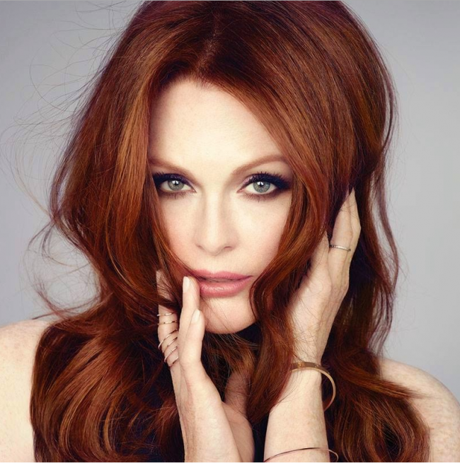 Julianne Moore Copper Locks