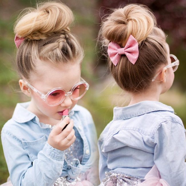 60 lovely hairstyles with braids for kids   all braiding