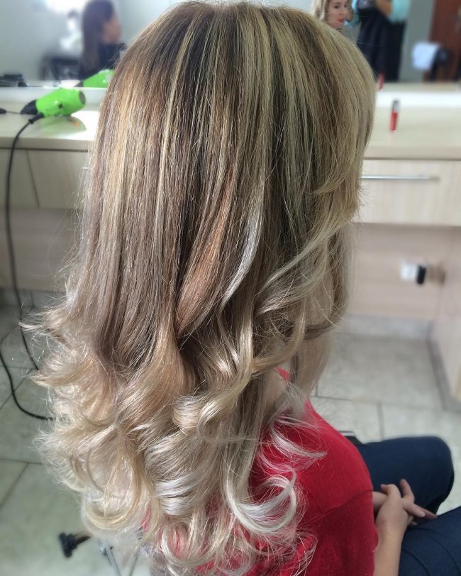Long and Light with Romantic Curls