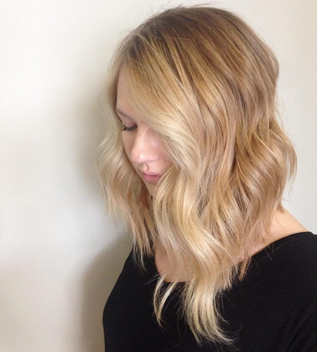 Luscious Golden Blonde Waves