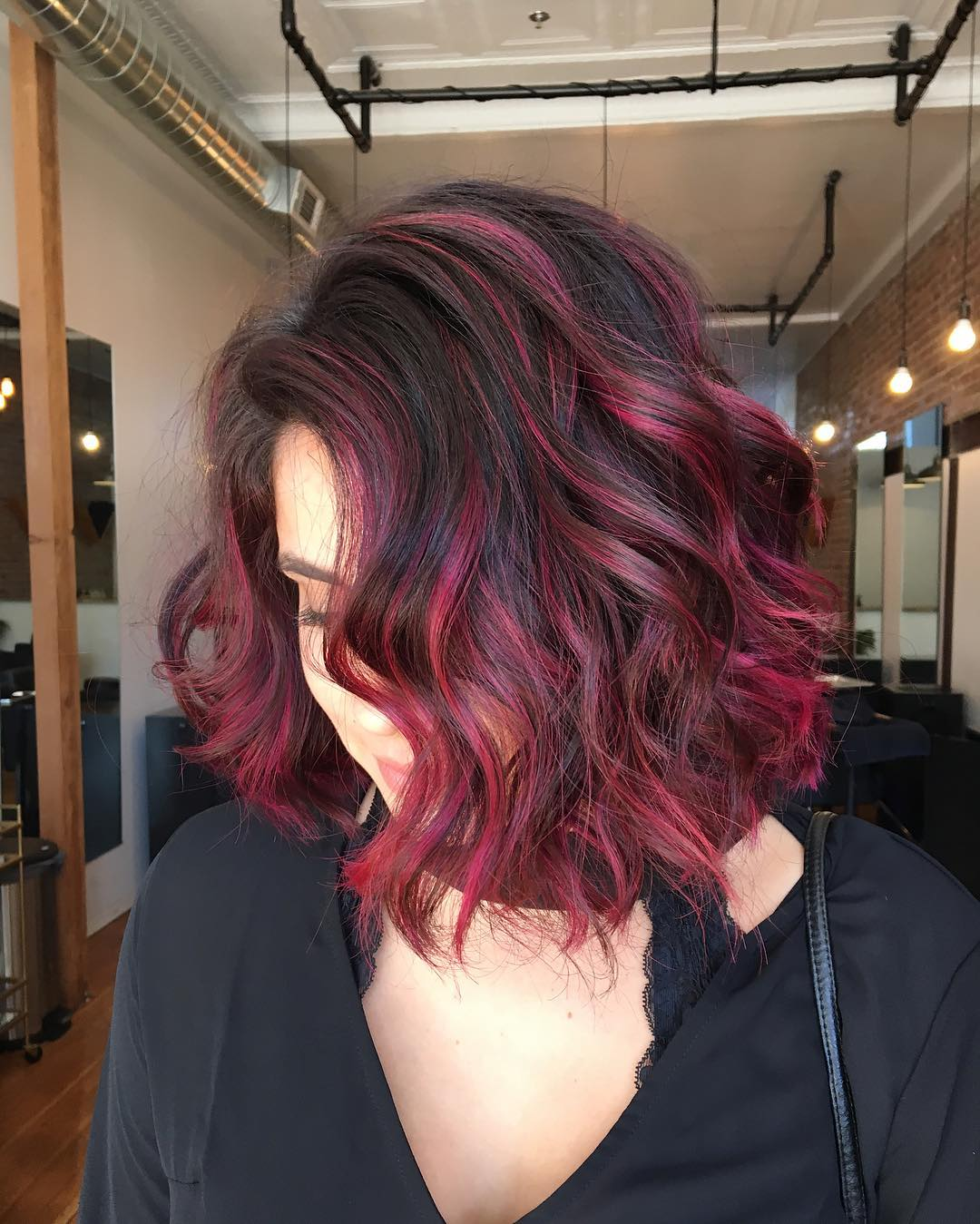 30 Blushing Burgundy Ombre Hair Ideas Ravishing In Red