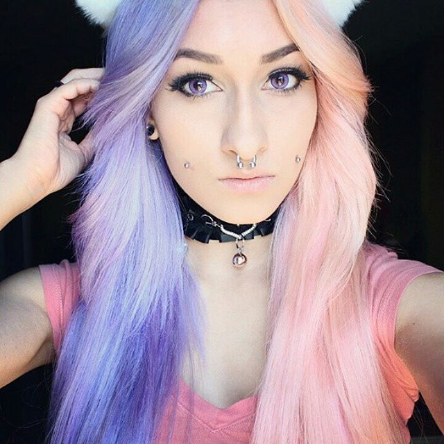 Pastel Long Locks