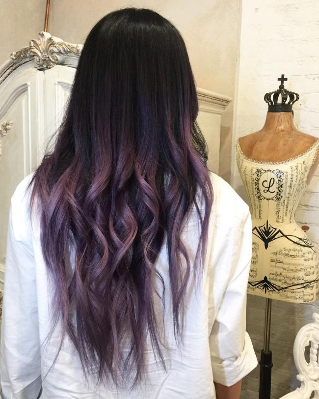 Chocolate Lilac Hair Has Become Trendy These Days Have You Already Seen All The