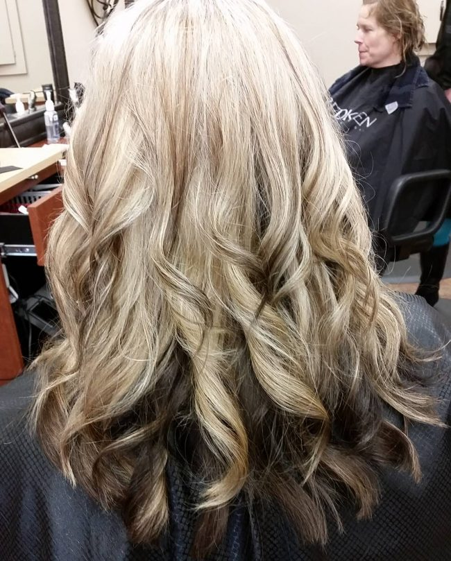 Separated Ombre