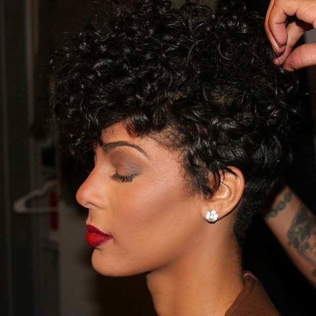 Sexy Tapered Curls