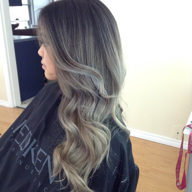 Shadow Roots and Silver Ombre
