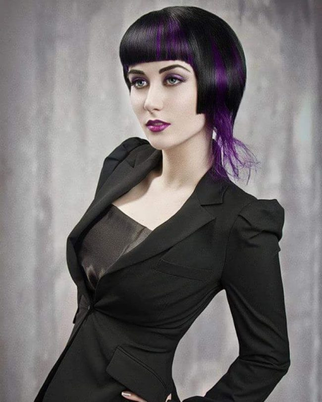 Sharp Black Bob