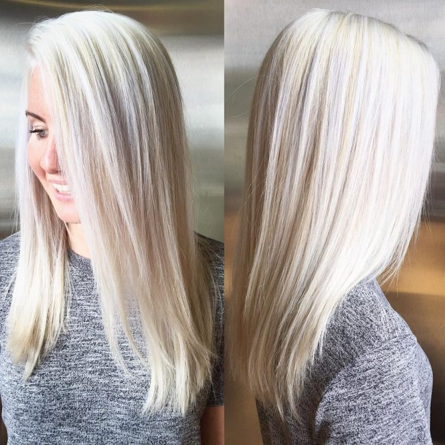 50 Ideas For Platinum Blonde Hair Color Silvery Trend