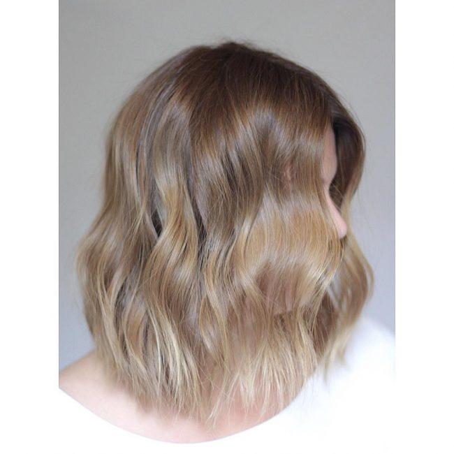 Soft Gold Ombre
