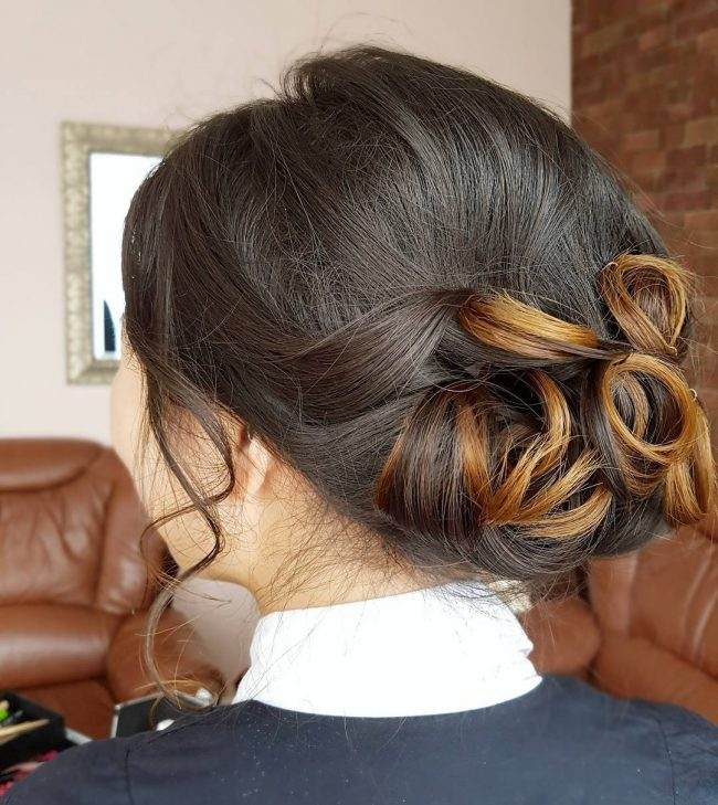 Soft Updo for Prom