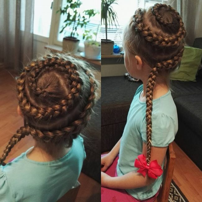 Spiral Dutch Braids