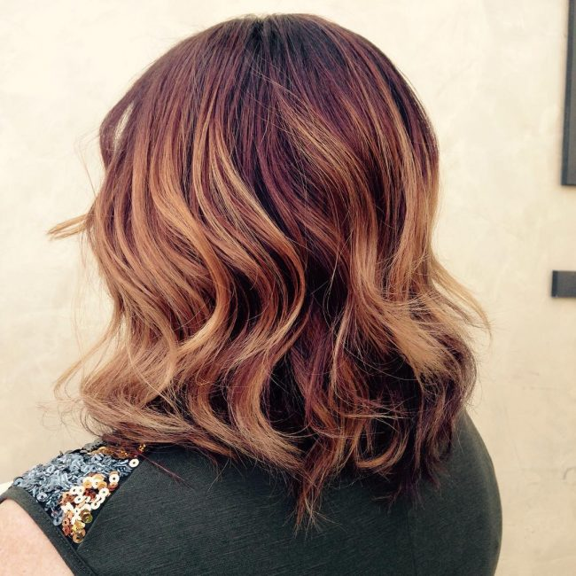 Stylish Balayage Fade