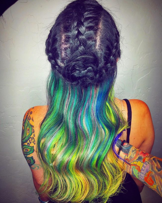 Stylish Rainbow Waterfall