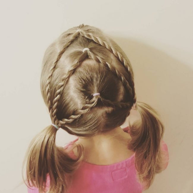 Twist Braids And Precious Pigtails