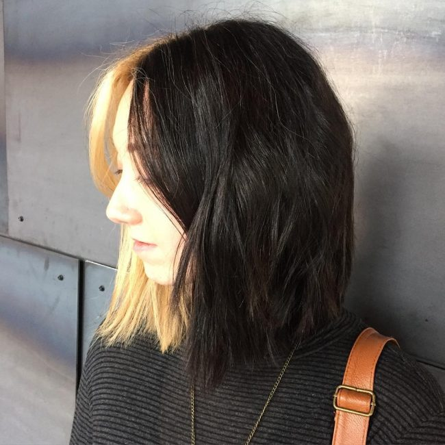 Two Toned Blunt Bob