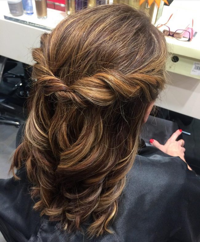 Waterfall Braid for Rolling Curls
