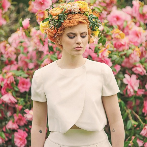 Whimsical and Colorful Flower Crown