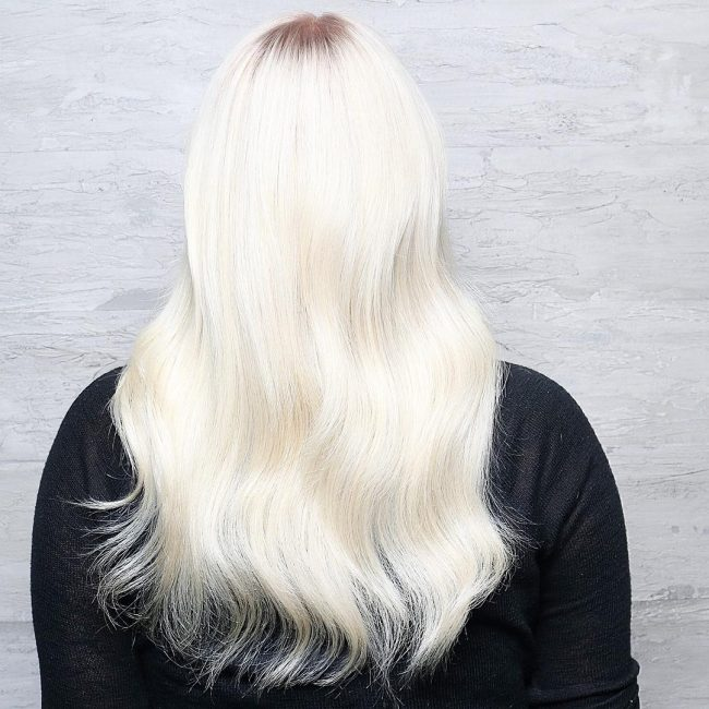50 Ideas for Platinum Blonde Hair Color - Silvery Trend
