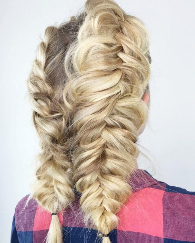 Adorable Blonde Twists