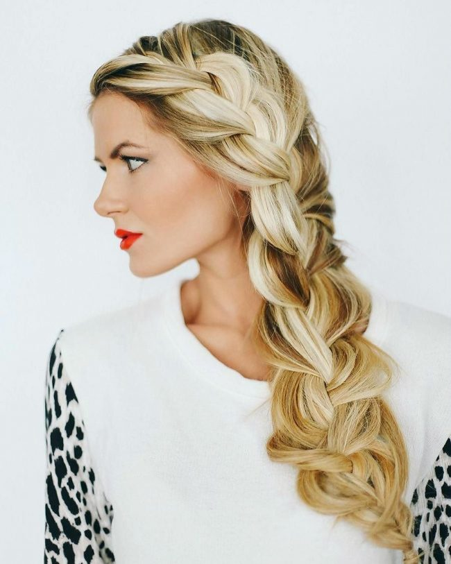 Adorable Chunky Braid