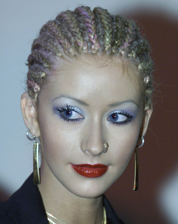 Aguilera's Extra Cute and Neat Cornrows