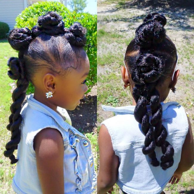 Artistic Mohawk Twists