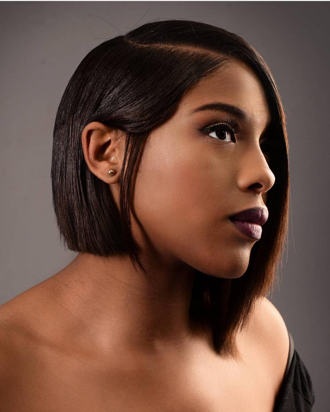 60 Elegant Long and Short Bob Hairstyles for Black Women