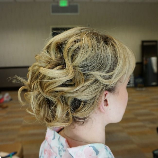 Beachy Bridal Updo