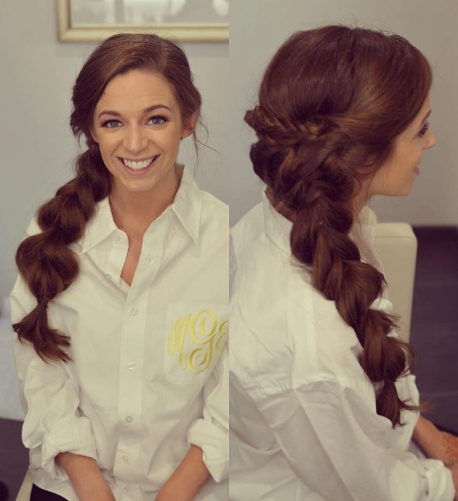 Big Voluminous Braid