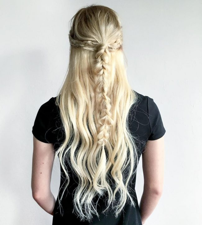 Braid with Halo Extensions