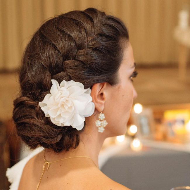 Bridal Twist and Chignon