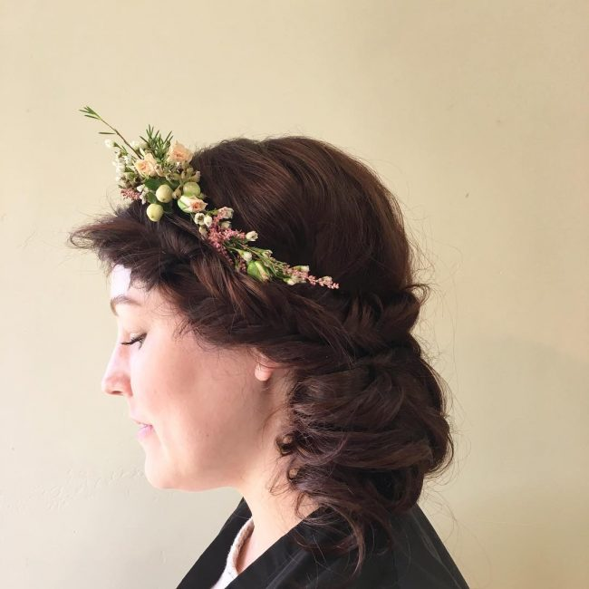 Charming Flower Crown and Fishtail