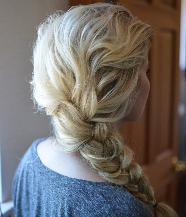 Chunky Side Braid